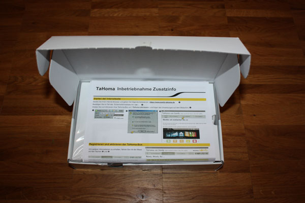 unboxing somfy tahoma box jens ihnow 39 s blog. Black Bedroom Furniture Sets. Home Design Ideas